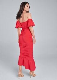 Alternate View Off Shoulder Ruched Dress