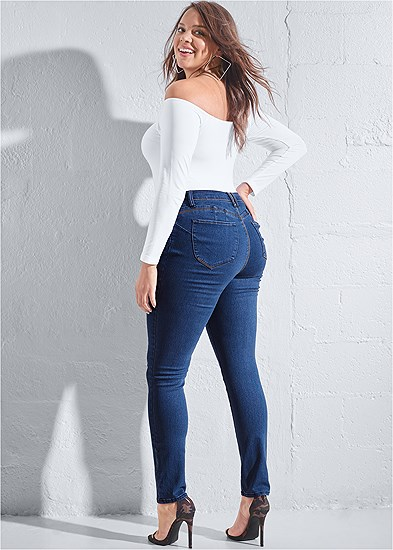 Plus Size Bum Lifter Jeans
