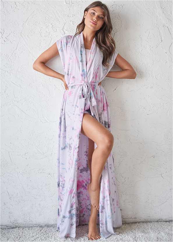 Sleeveless Sleep Robe,Sleep Shorts