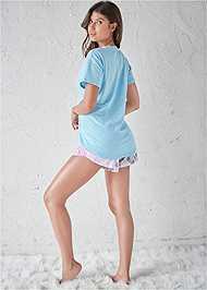 Back View Sleep T-Shirt