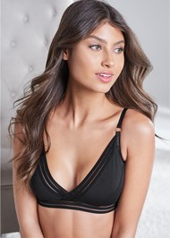 Waist Up front view Triangle Bralette