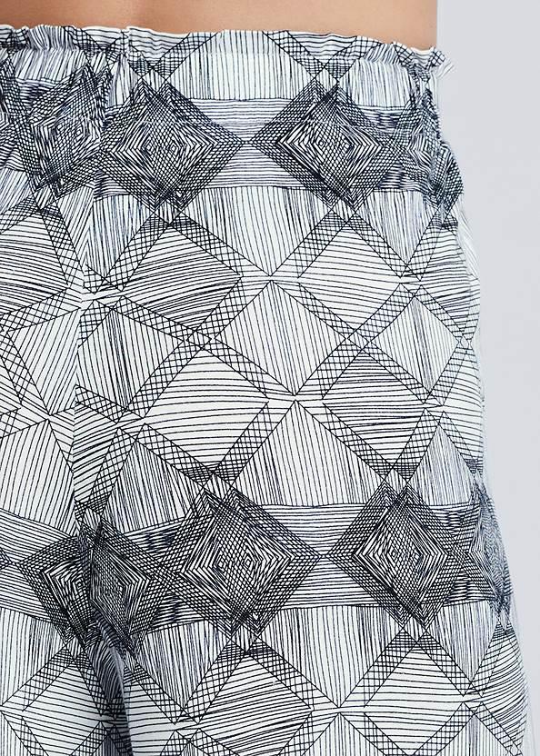 Detail back view Tie Sleep Pants