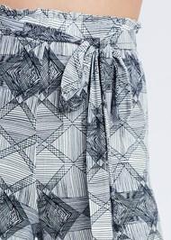Detail front view Tie Sleep Pants
