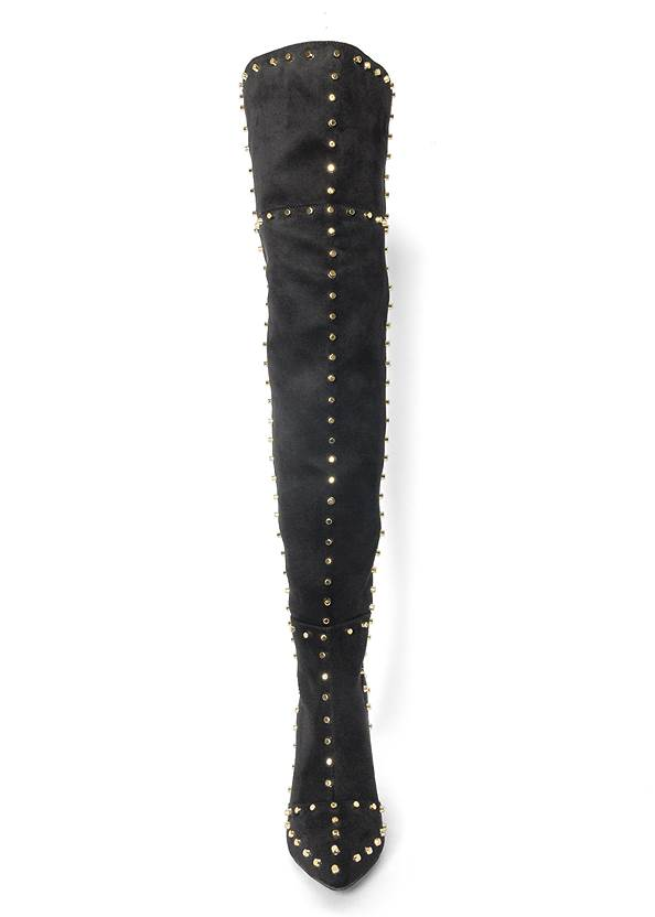 Alternate View Studded Over The Knee Boots