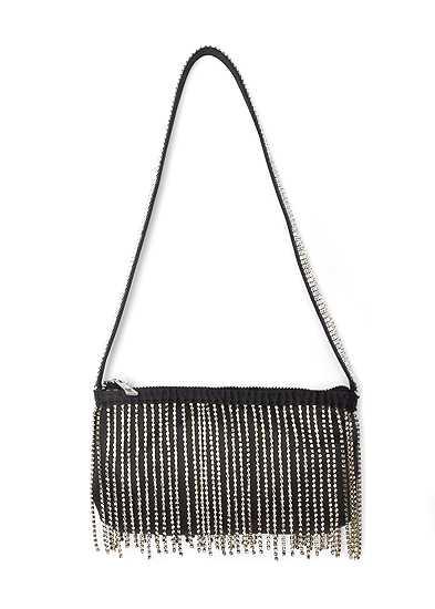 Embellished Fringe Bag