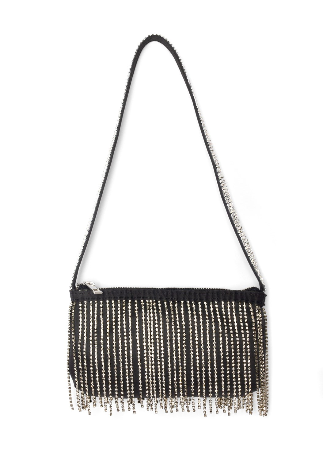 Embellished Fringe Bag