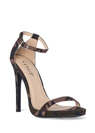 Front View Ankle Strap Heels