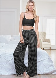 Front View Tie Sleep Pants
