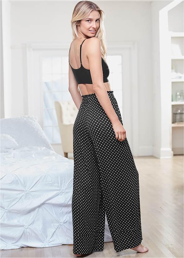 Back View Tie Sleep Pants