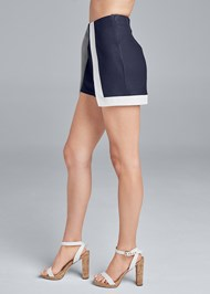 Alternate View Color Block Fashion Skort