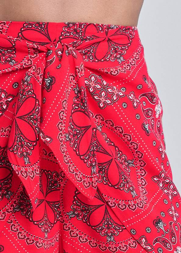 Alternate View Paisley Print Shorts