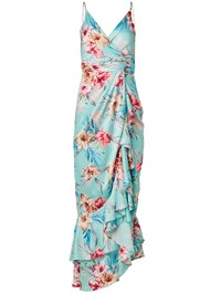 Alternate View Floral Print Wrap Dress