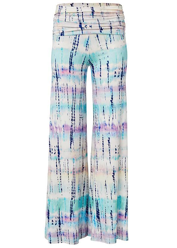 Alternate View Tie Dye Fold Over Pants