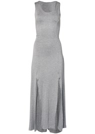 Alternate View High Slit Casual Maxi Dress