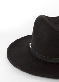 Alternate View Wide Brim Buckle Hat