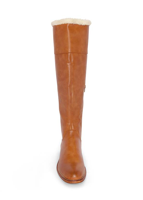 Alternate View Faux Shearling Detail Boot
