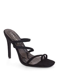 Front View Strappy Mule