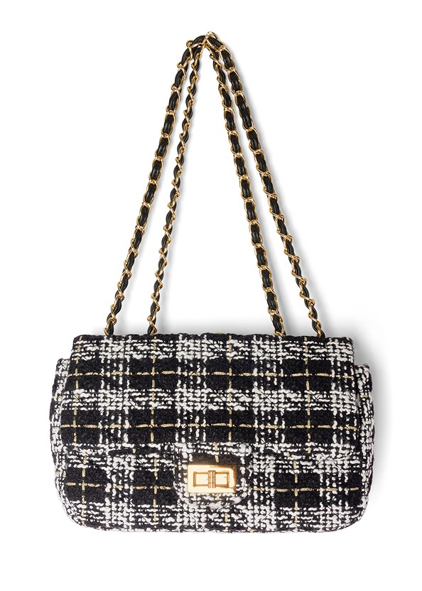 Plaid Printed Bag