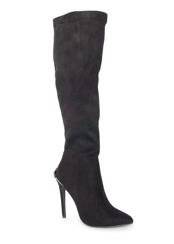 Heel Embellished Boot