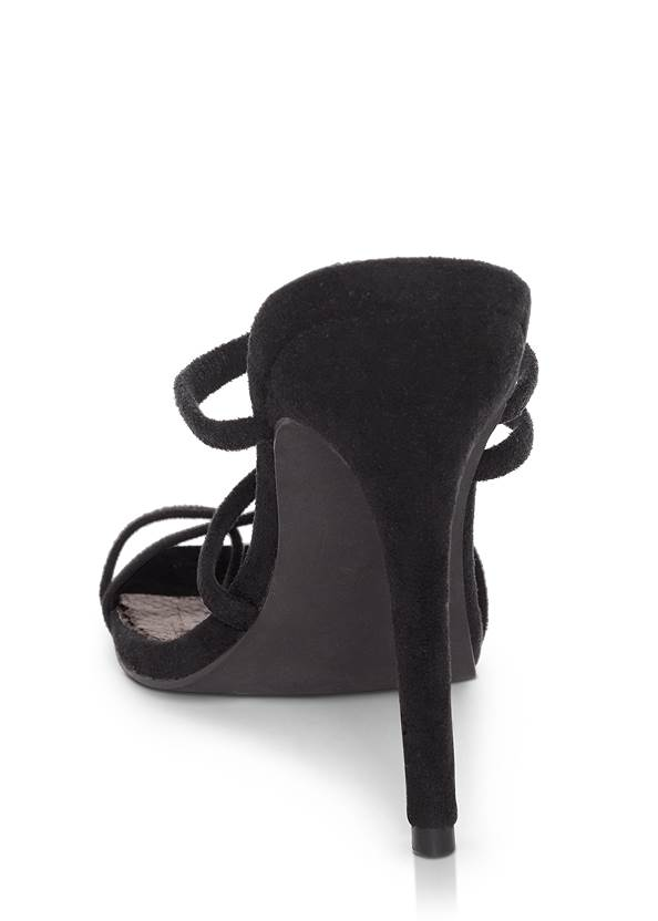 Back View Strappy Mule