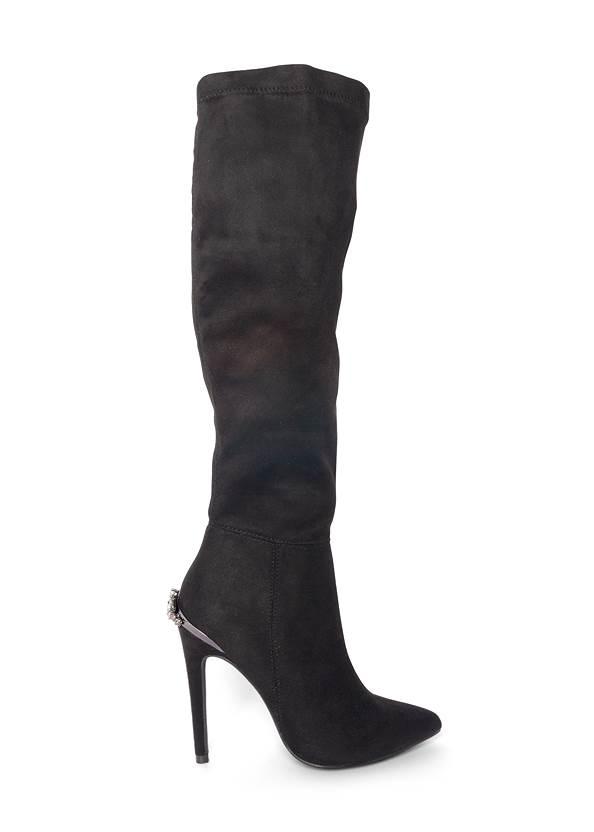 Shoe series side view Heel Embellished Boot