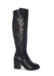 Shoe series side view Knee High Block Heel Boot