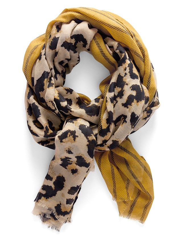 Leopard Mix Scarf