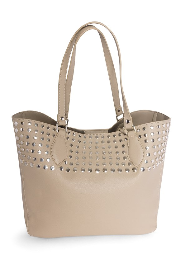 Stud Detail Tote Bag
