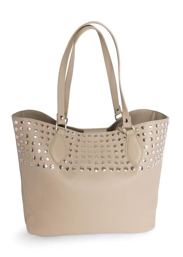 Stud Detail Tote Bag
