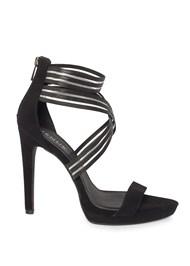 Alternate View Shadow Stripe Heels