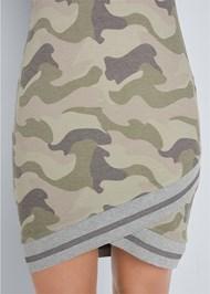 Alternate View Hooded Detail Dress