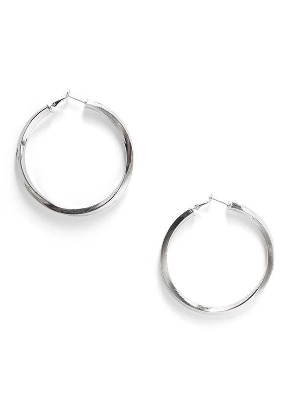 Twist Hoop Earrings