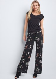 Alternate View Casual Floral Jumpsuit