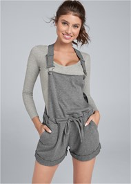 Cropped front view Lounge Short Overalls