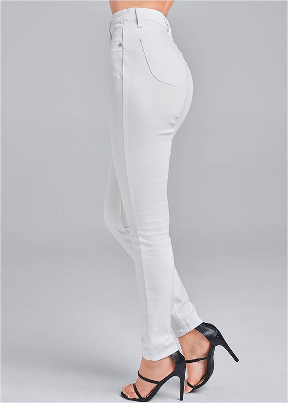 Side view Bum Lifter Jeans