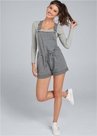 Full front view Lounge Short Overalls