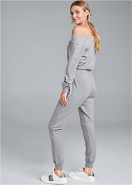 Back View Easy Lounge Jumpsuit
