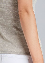 Alternate View Glitter Detail Casual Tee