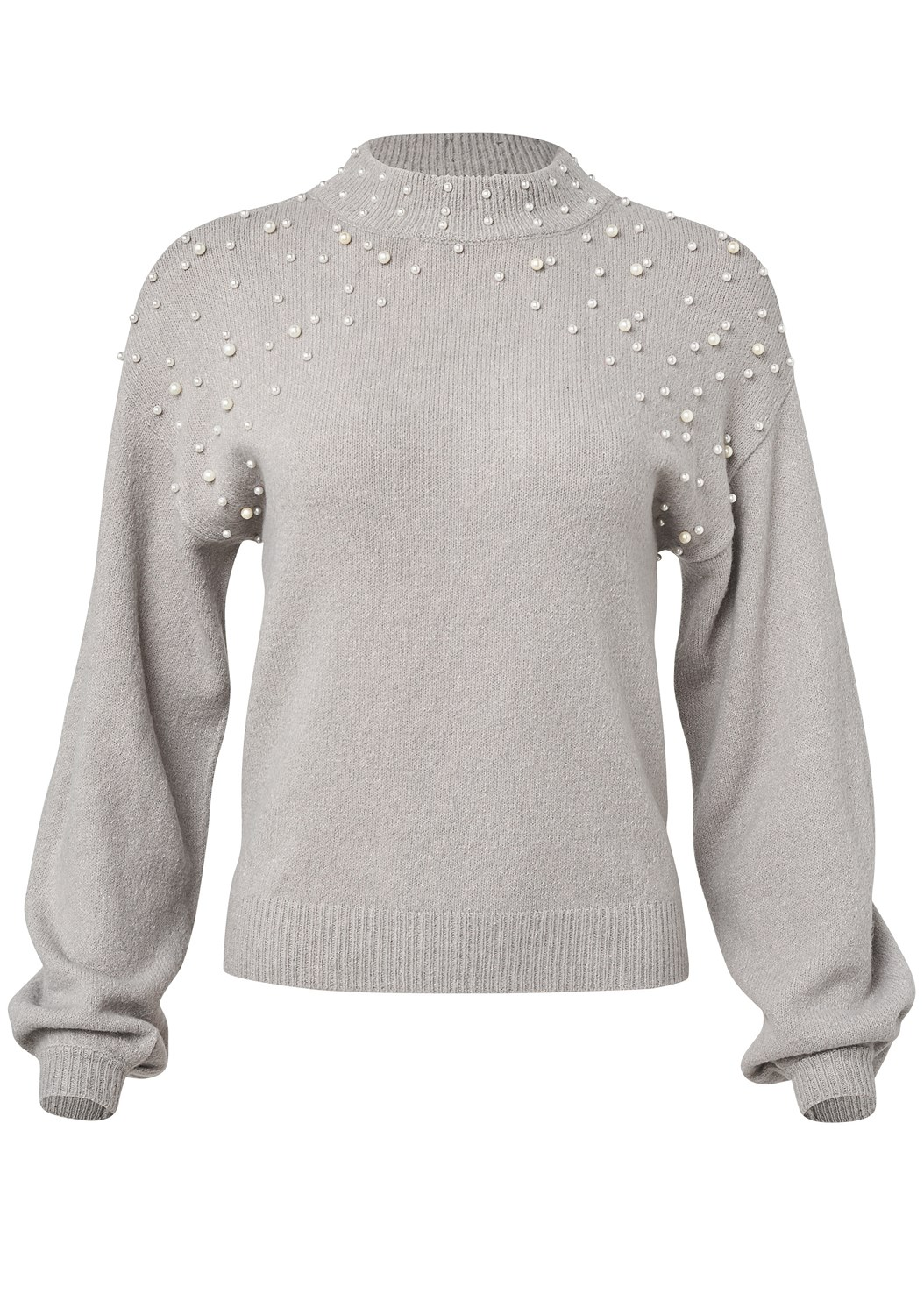 Pearl Detail Sweater,Mid Rise Color Skinny Jeans,Lace Up Tall Boots