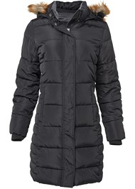 Alternate View Hooded Long Puffer Coat