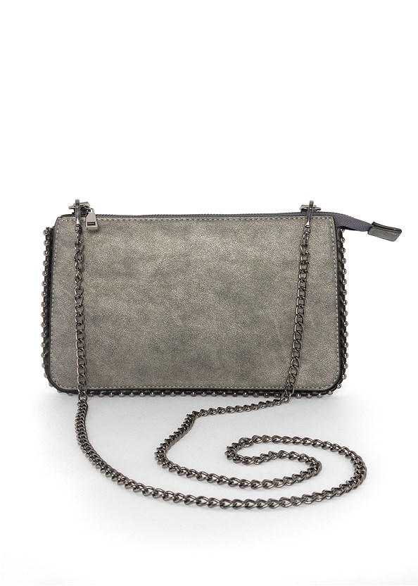 Studded Chain Strap Bag