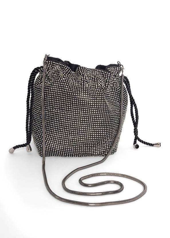 Soft Embellished Bucket Bag