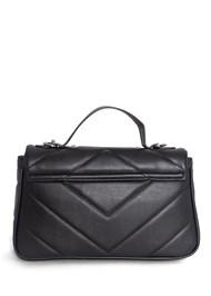 Flatshot back view Studded Handbag