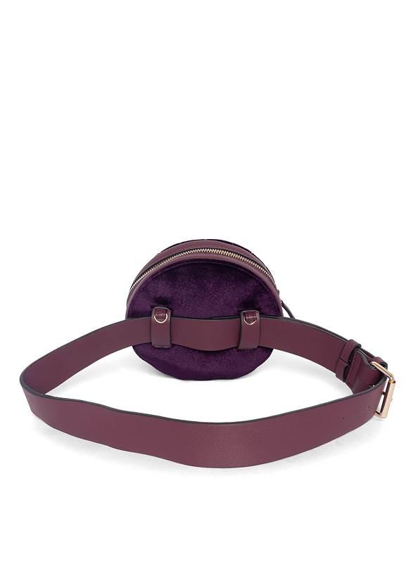 Back View Velvet Convertible Bag