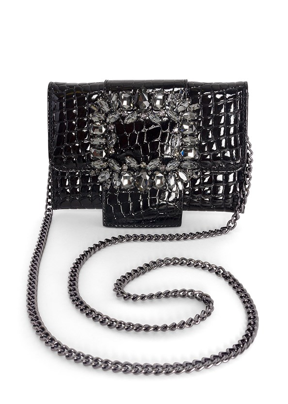 Rhinestone Statement Clutch