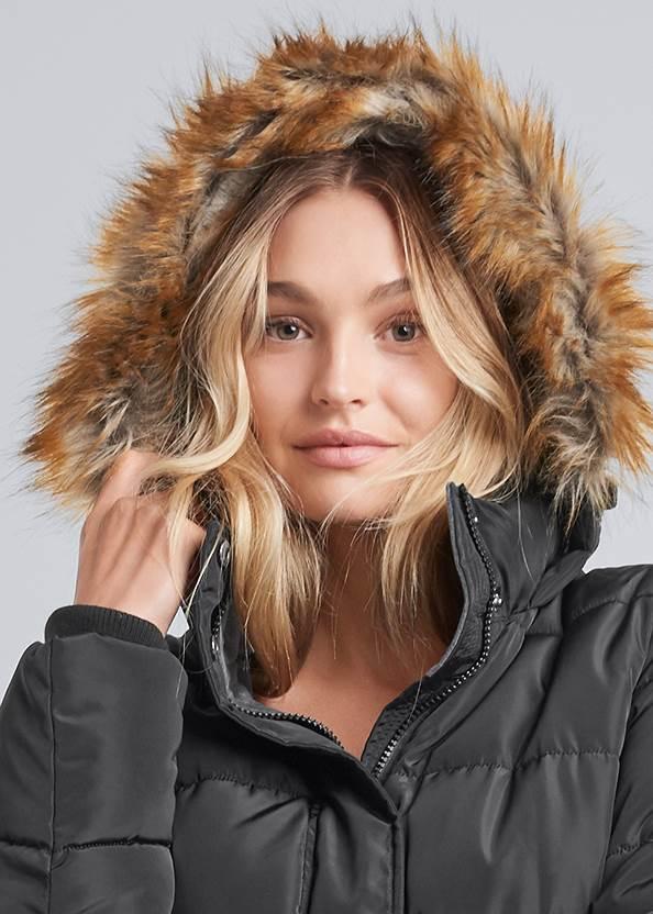 Alternate View Hooded Long Puffer Coat