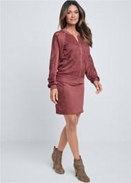 Alternate View Lace Lounge Skirt Set