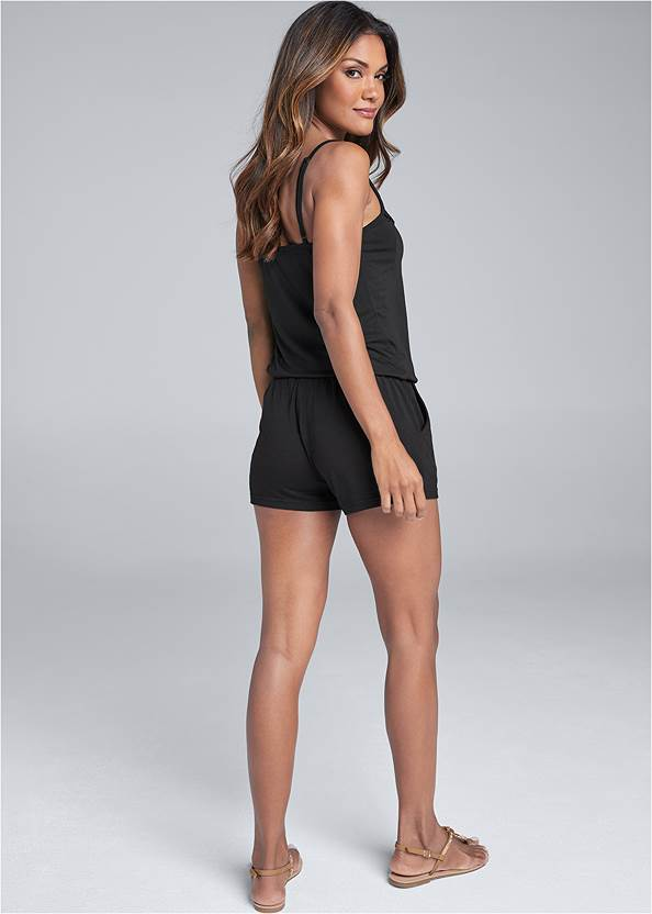 Back View Casual Romper