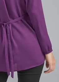 Alternate View Wrap Blouse