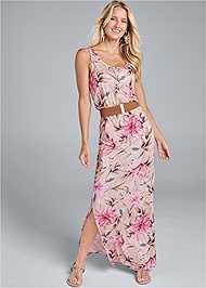 Alternate View Floral Maxi Dress